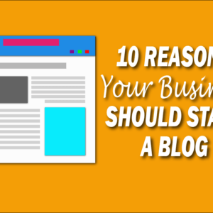 10 Reasons Your Business Should Start a Blog. Blog Clipart screen