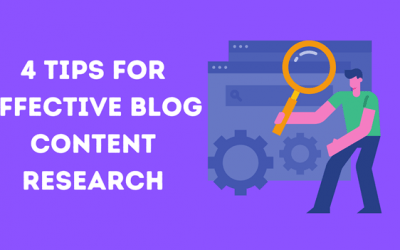4 Content Research Tips for Bloggers