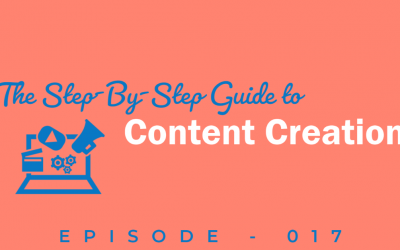 Episode 17: Content Creation from Start to Finish