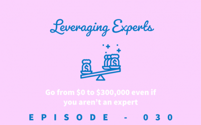 Episode 30: How to Make 6-Figures When You Aren't an Expert [Robbin Kleinpenning]