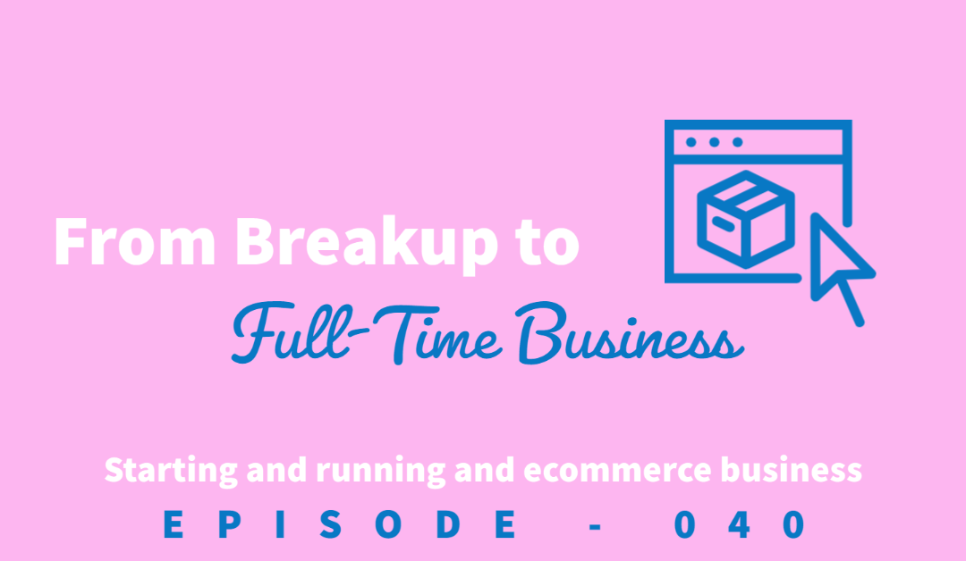 """Episode 40: Turning a """"Sticky Note"""" Breakup into a Full-Time Business [Rachel Khona]"""