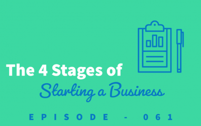 Episode 61: The 4 Stages of Starting a Business [Sandra Francisco]