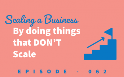 Episode 62: Scaling Your Business by Doing the Things that DON'T Scale [Alex Sanfillipo]